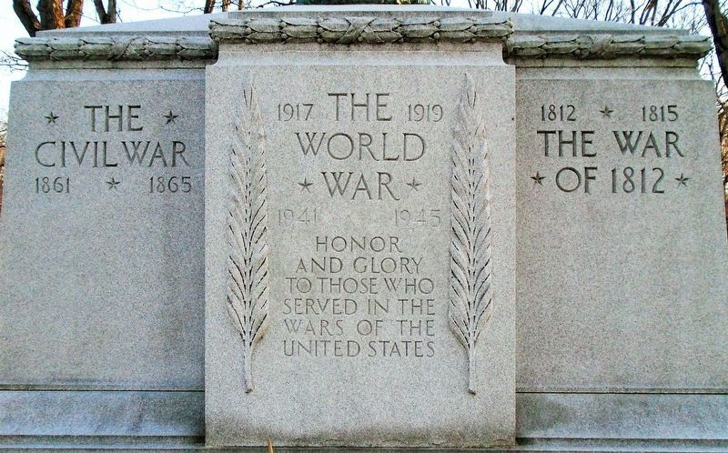War Memorial (front) image. Click for full size.