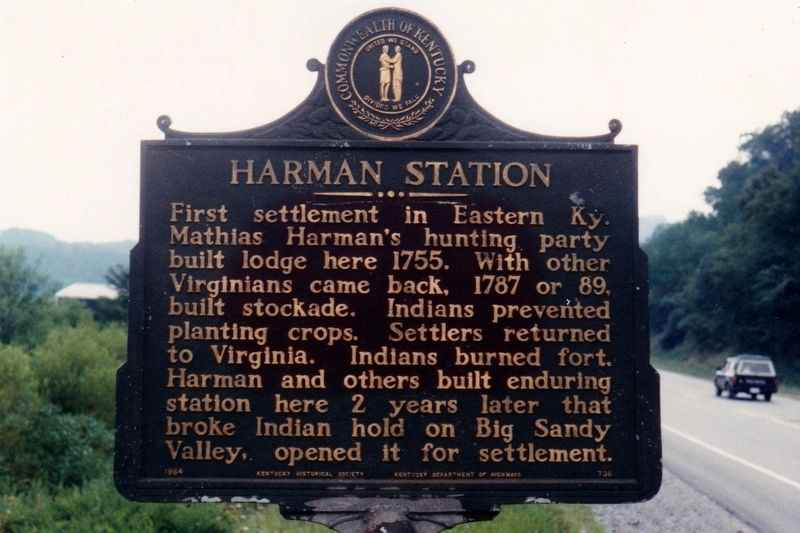 Harman Station Marker image. Click for full size.