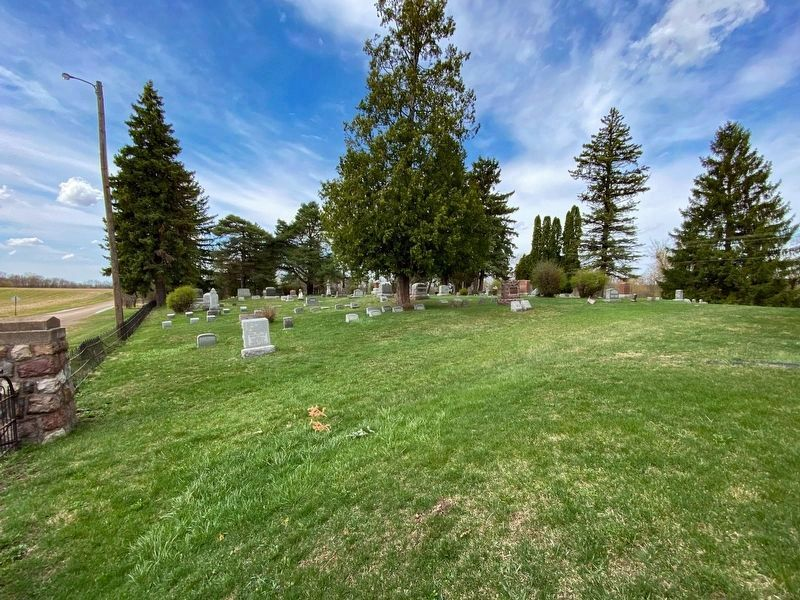 St. John's Evangelical Lutheran Church Cemetery image. Click for full size.