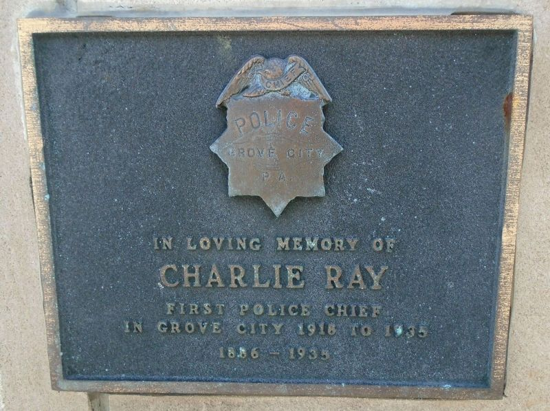 Charlie Ray Marker image. Click for full size.