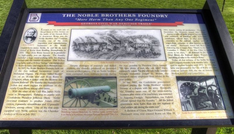 The Noble Brothers Foundry Marker in Better Condition image. Click for full size.