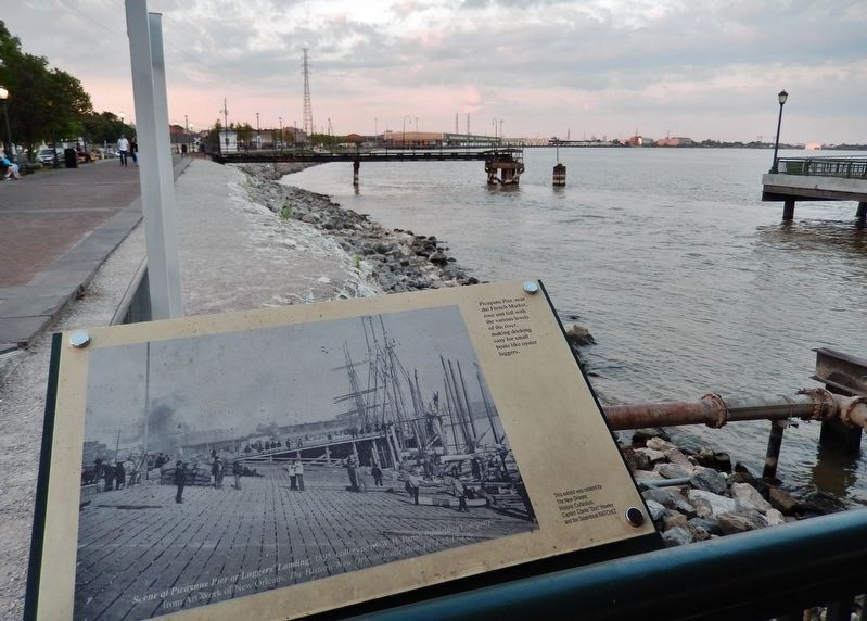 Picayune Pier Marker image. Click for full size.