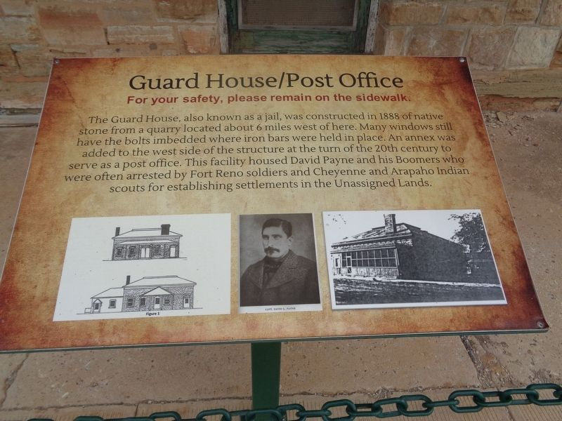 Guard House/Post Office Marker image. Click for full size.