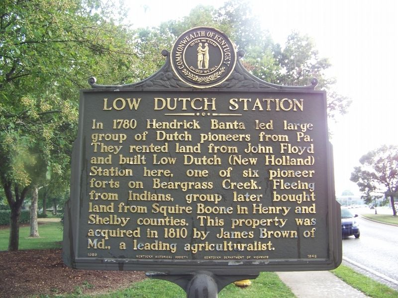Low Dutch Station Marker image. Click for full size.