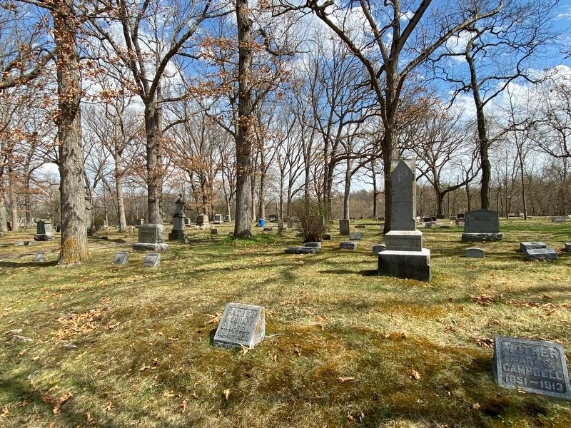 Oak Grove Cemetery image. Click for full size.