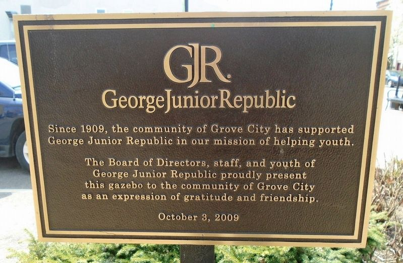 George Junior Republic Marker image. Click for full size.