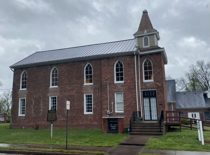 Bardstown's First Church image. Click for full size.
