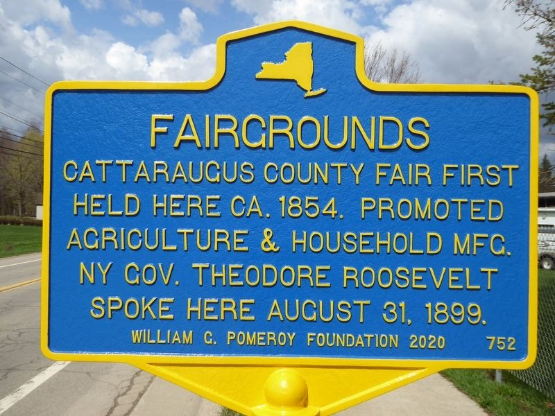 Fairgrounds Marker image. Click for full size.