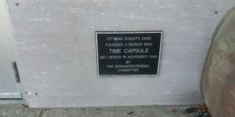 Ottawa County Courthouse Marker image. Click for full size.
