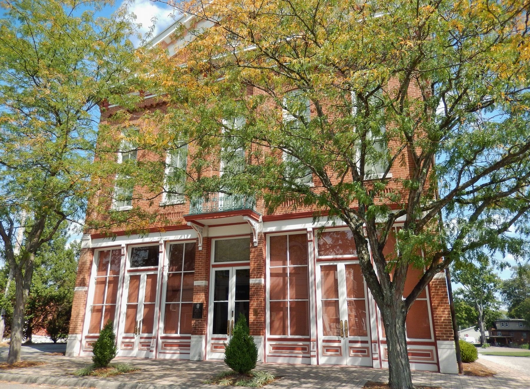 Huntingburg Town Hall and Fire Engine House image. Click for full size.