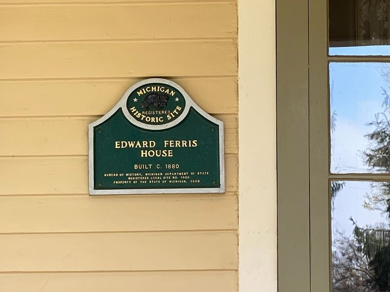 Edward Ferris House Marker image. Click for full size.