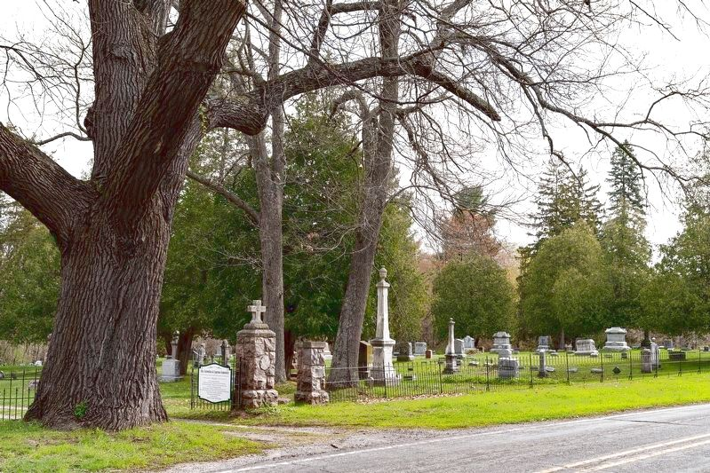 Sts. Cornelius and Cyprian Cemetery image. Click for full size.
