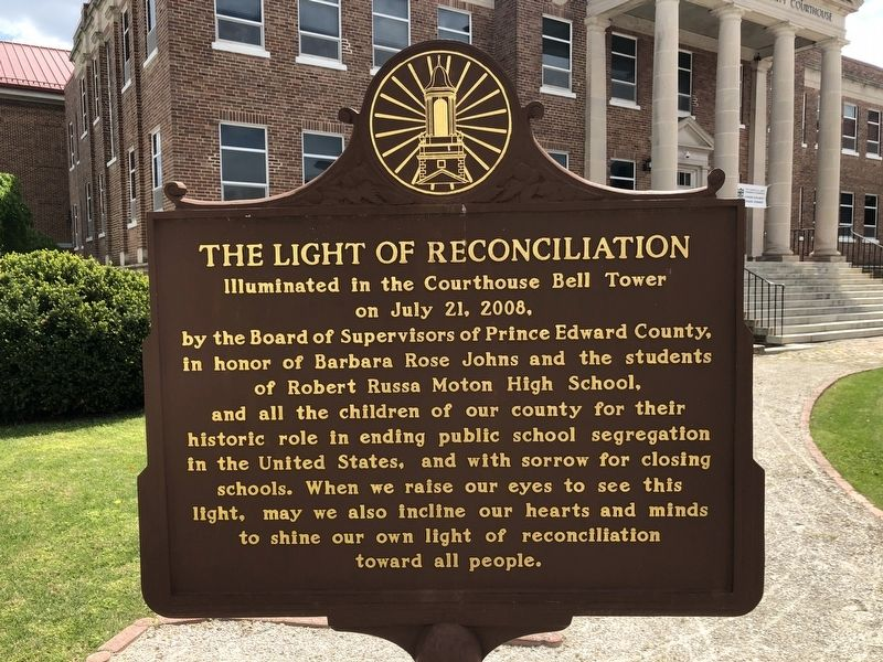 The Light of Reconciliation side of the marker image. Click for full size.