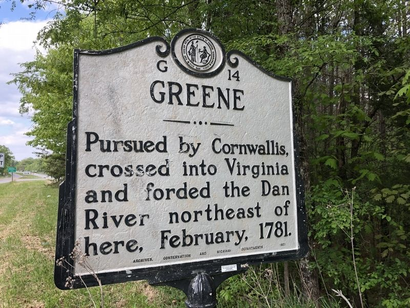 Greene Marker image. Click for full size.