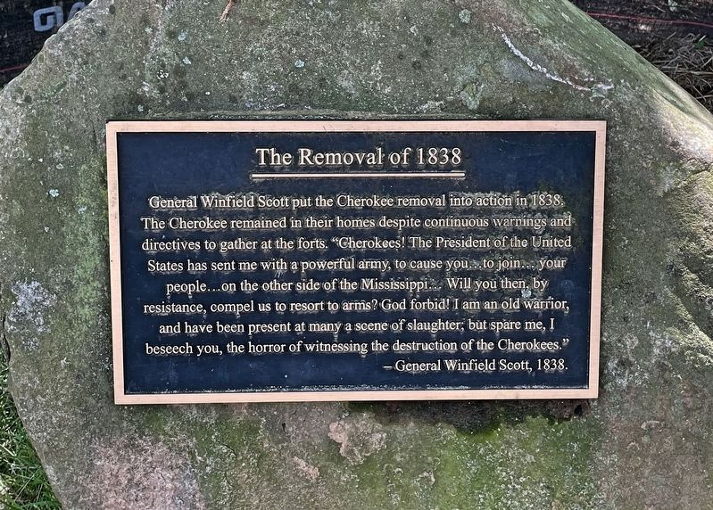 The Removal of 1838 Marker image. Click for full size.
