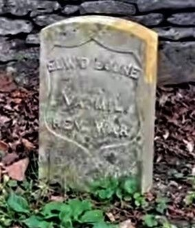 Edward Boone's 1920s DAR gravestone image. Click for full size.
