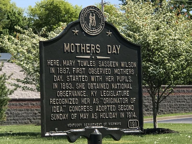 Mothers Day Marker image. Click for full size.