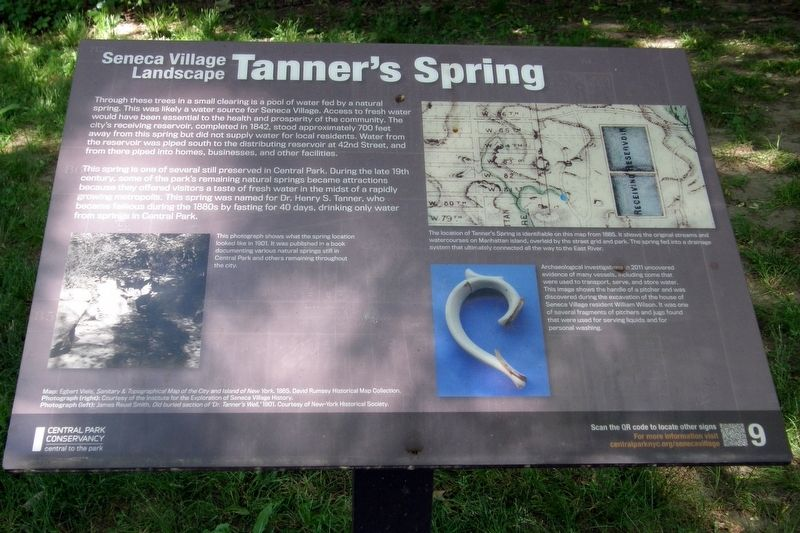 Tanner's Spring wayside image. Click for full size.