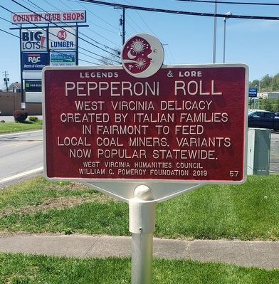 Pepperoni Roll Marker image. Click for full size.