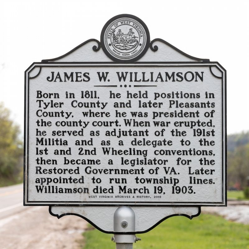 James W. Williamson Marker image. Click for full size.