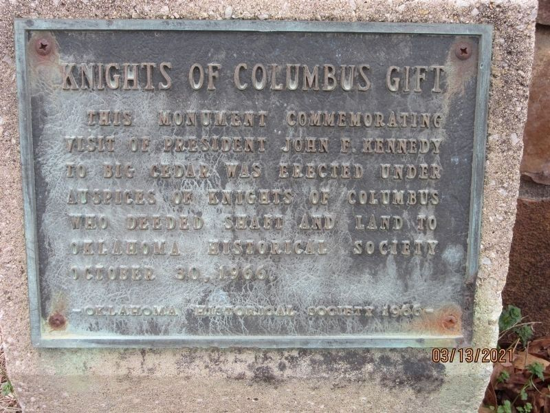 Knights of Columbus 1966 Marker image. Click for full size.